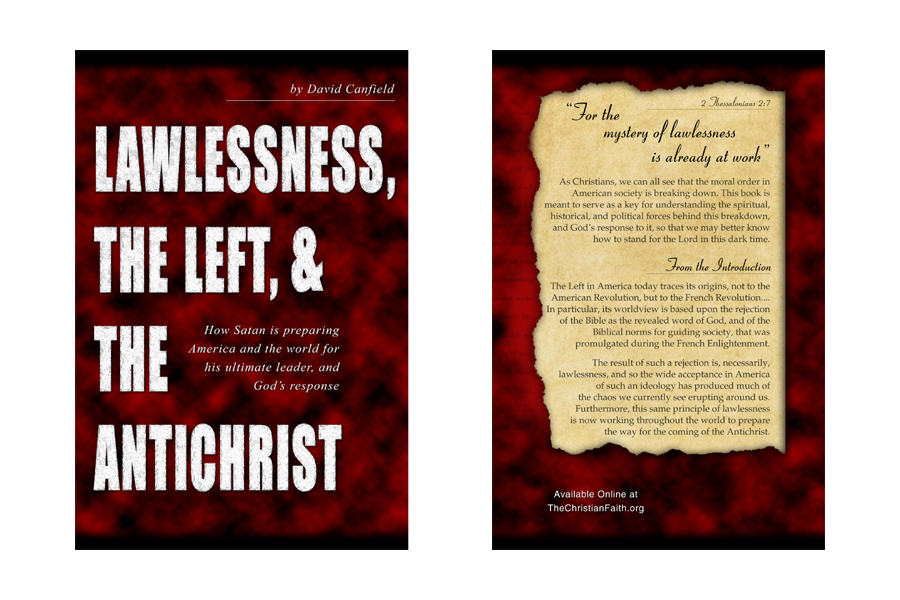 A New Book: Lawlessness, the Left, and the Antichrist